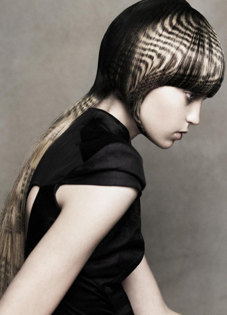 этом трафаретное окрашивание волос фото любой мужчина