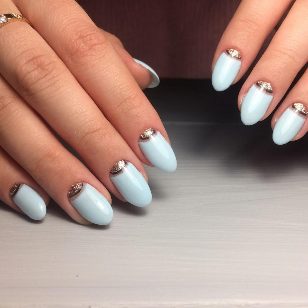 Картинки овальные ногти