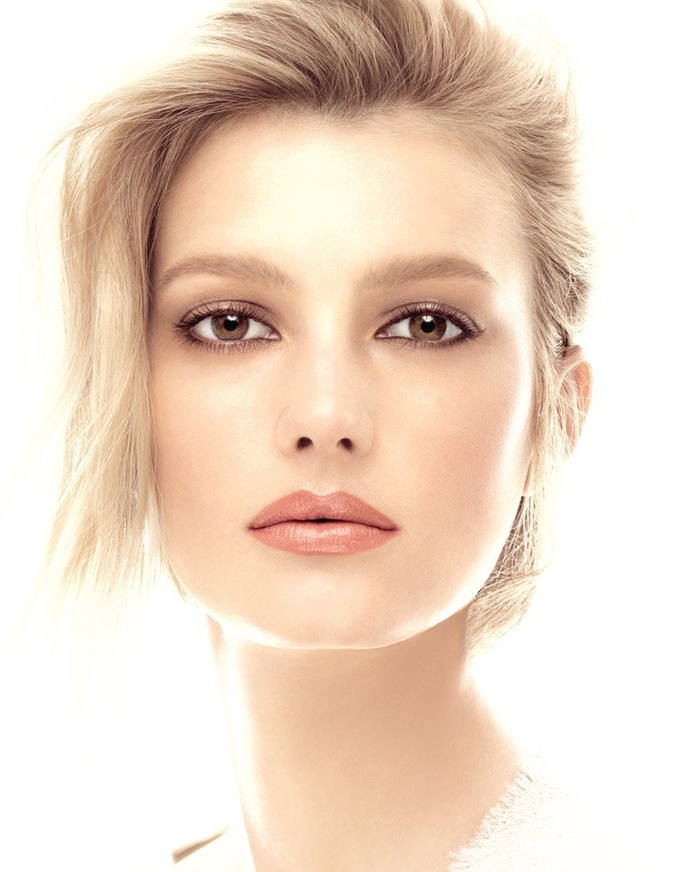 Макияж для блондинок с карими глазами и светлой кожей на каждый день (с фото).
