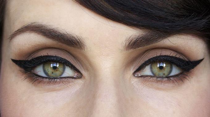 Миндалевидные глаза