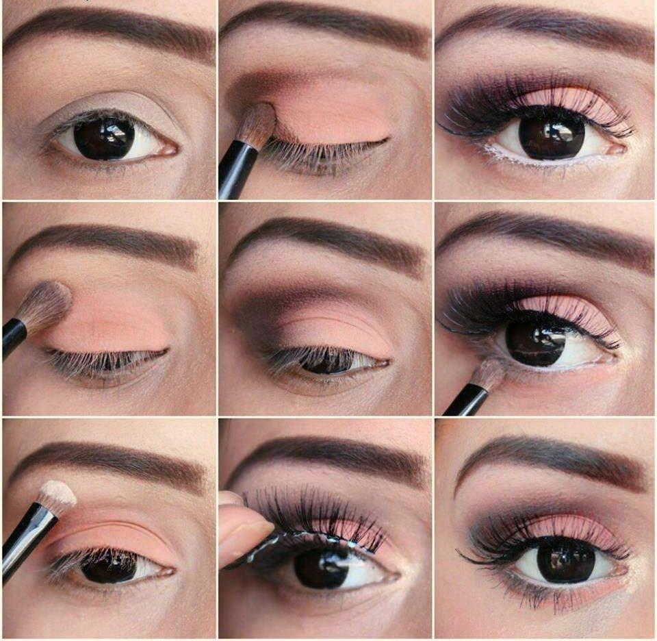 макияж глаз пошаговое фото тени огородными культурами только