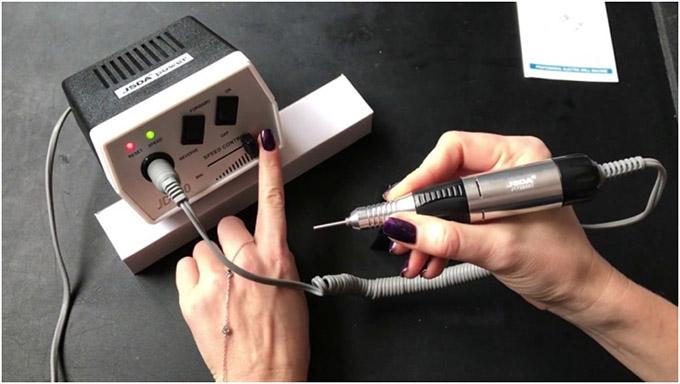 Процедура правильной обработки ногтей