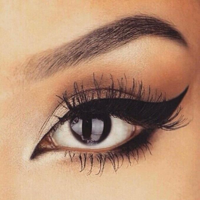 макияж с стрелками красивый картинки правила