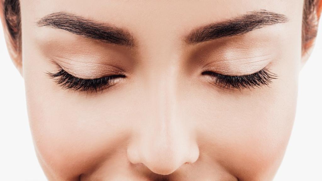 Перманентный макияж пудровая техника